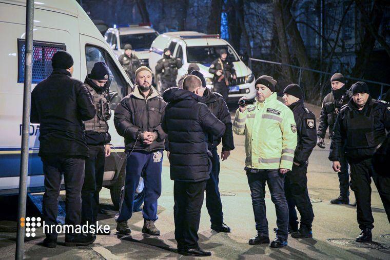 Задержанный Антоненко
