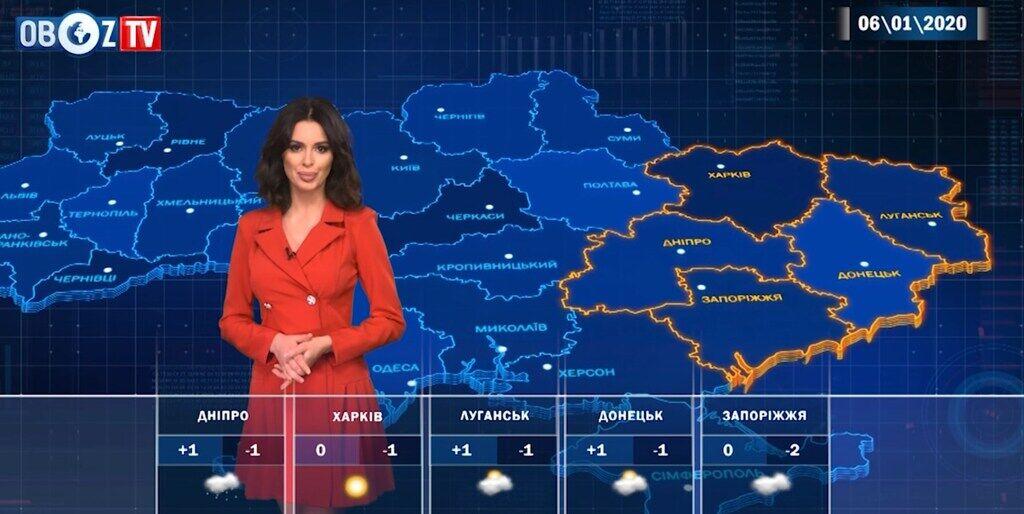 На Святвечір вдарить мороз: прогноз на 6 січня від ObozTV