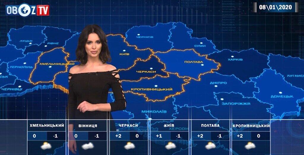 До -9 градусів: прогноз погоди на 8 січня від ObozTV