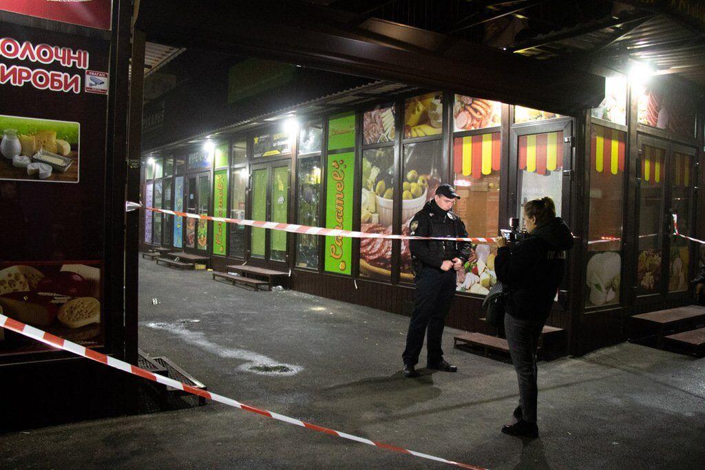 "В ночь на 25 октября преступники подорвали гранату на территории рынка ""Радосинь"""