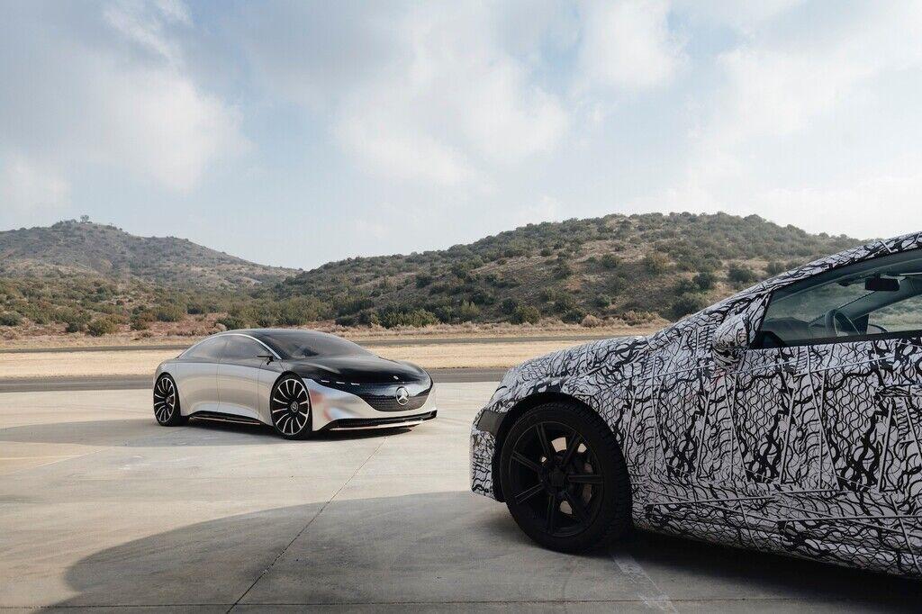 Серійний електромобіль буде більшим не тільки за концепт, але й звичайний S-Class