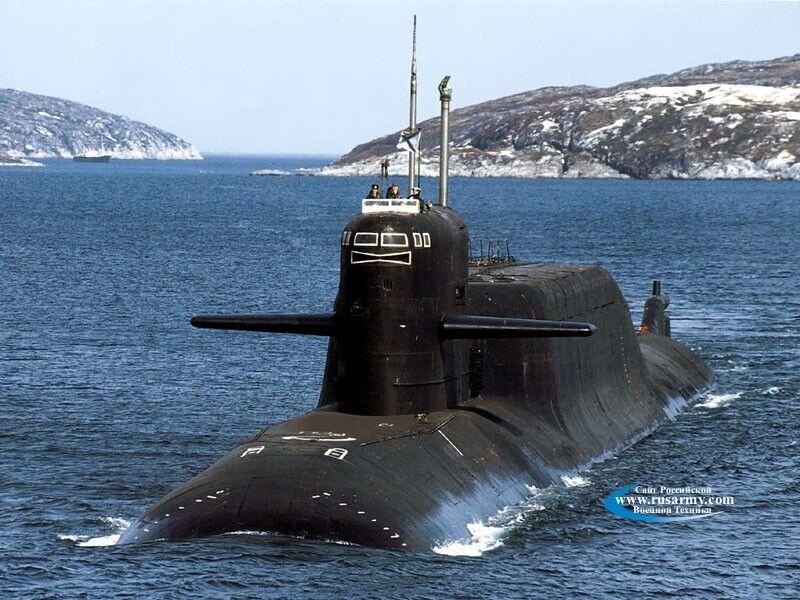 """Субмарина проєкту 667БДРМ """"Дельфін"""""""