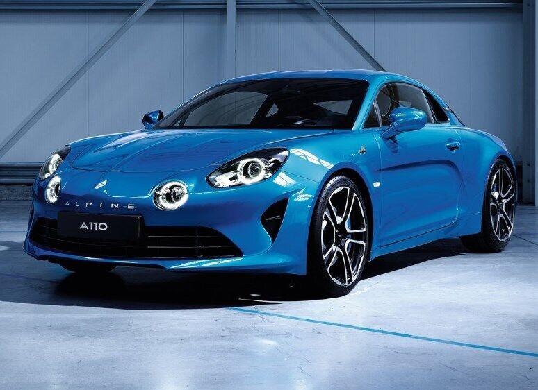 Новый кроссовер Рено создали на базе купе Alpine A110