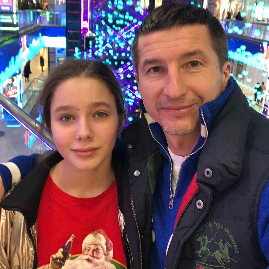 Евгений Алдонин с дочерью