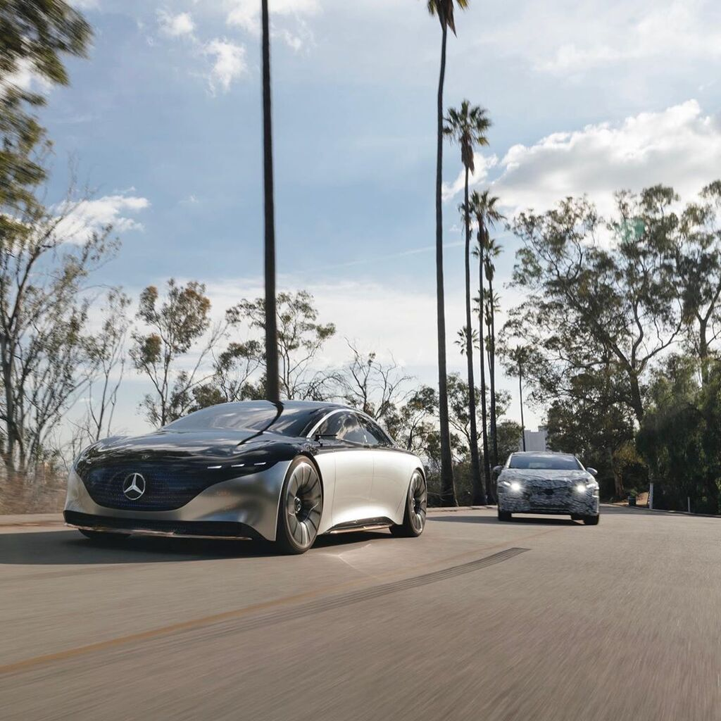 Участь двох автомобілів у випробуваннях свідчить про активні роботи з підготовки серійного виробництва моделі EQS