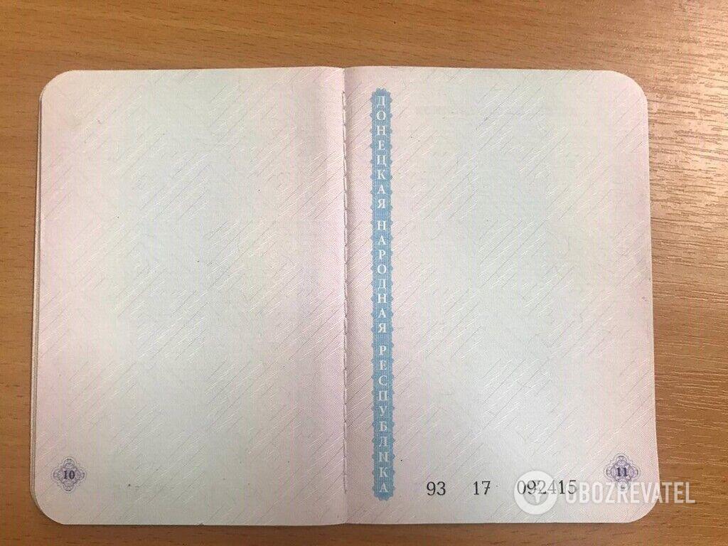 """Паспорта в """"ДНР"""""""