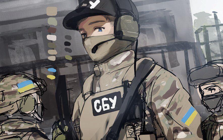Зображення українських воїнів у стилі аніме