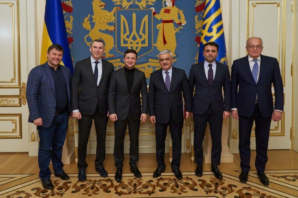 Зеленский встретился с президентом SOCAR
