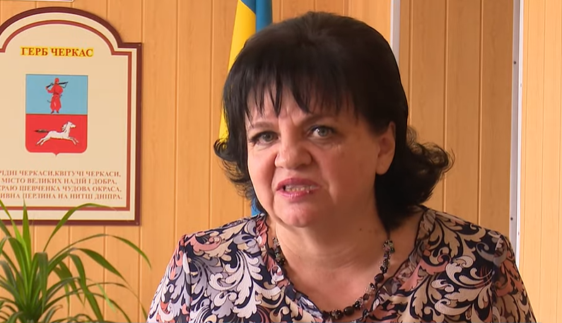 Директорка Черкаської санаторної школи Людмила Шарапа