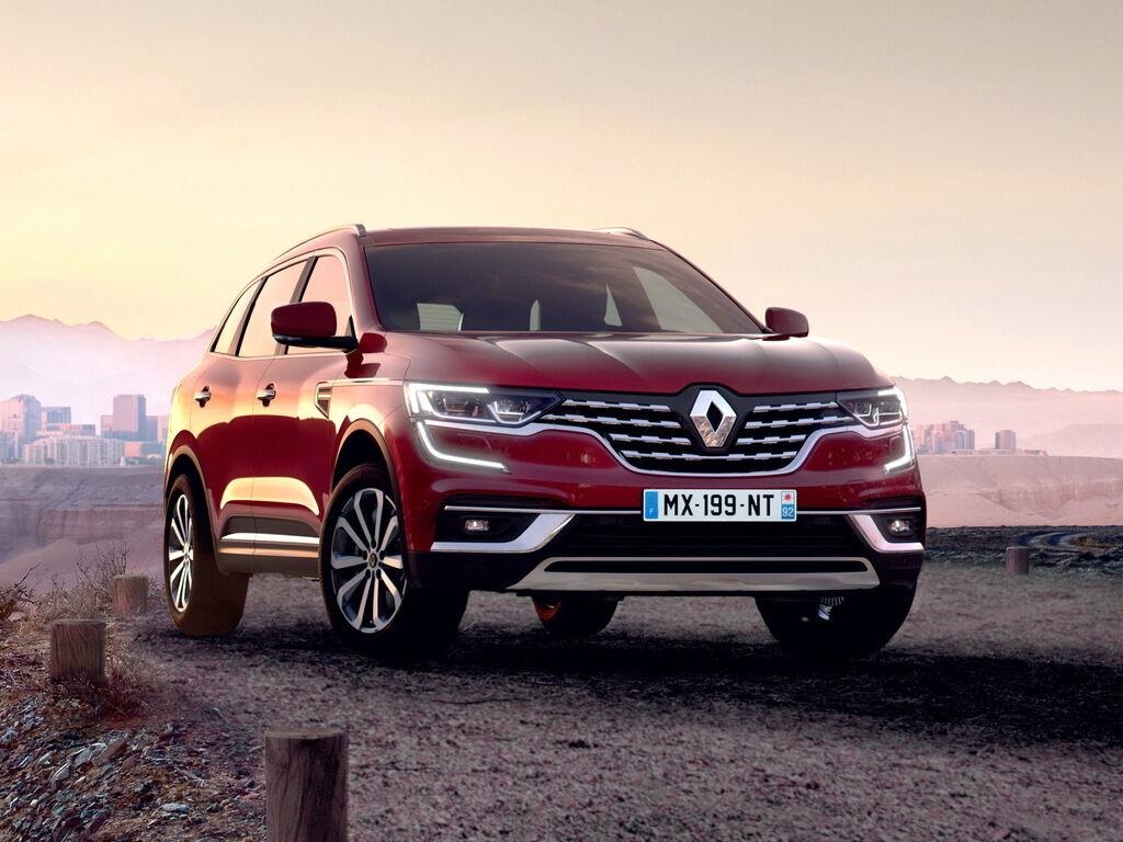 Оновлений Renault Koleos презентували в Україні 28 січня