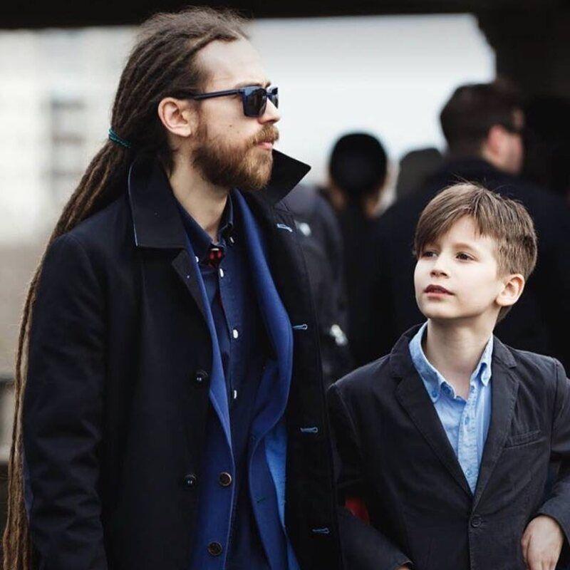 Децл з сином Тоні