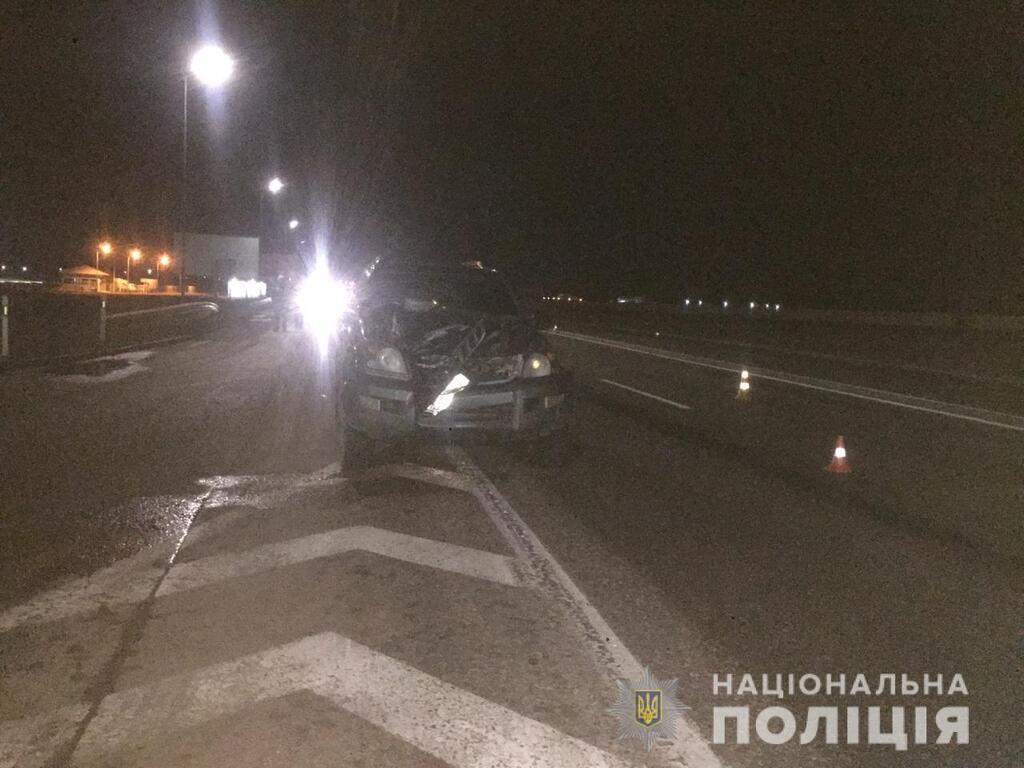 Пешеход погиб под колесами авто под Одессой