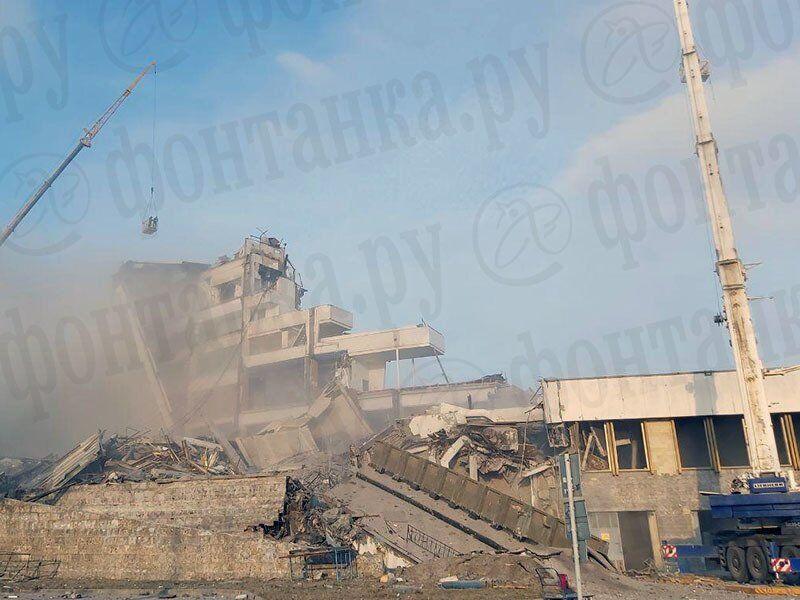 В Санкт-Петербурге обвалилась крыша стадиона