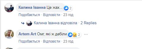 Комментарии пользователей сети
