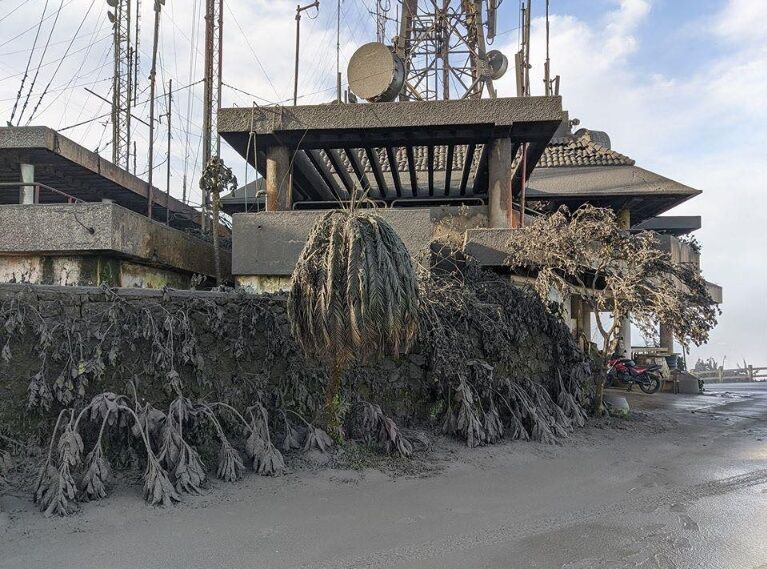 Последствия извержения вулкана Тааль