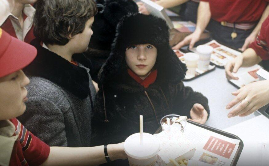 Відкриття першого в СРСР McDonald's