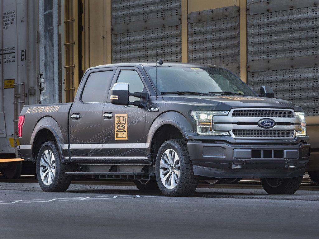 Ford F-150 EV Prototype уже активно тестируется компанией