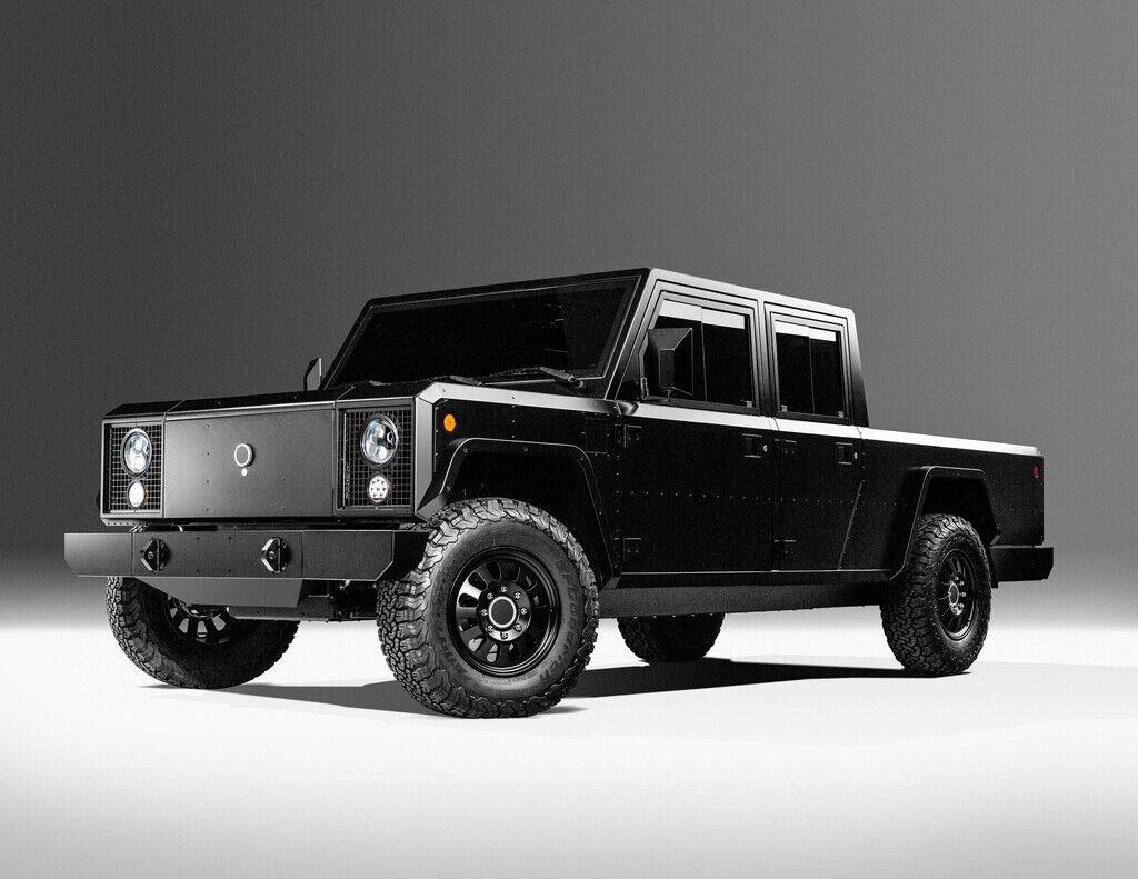 Bollinger B2 получит 614-сильный электромотор, а цена заявлена от $125000