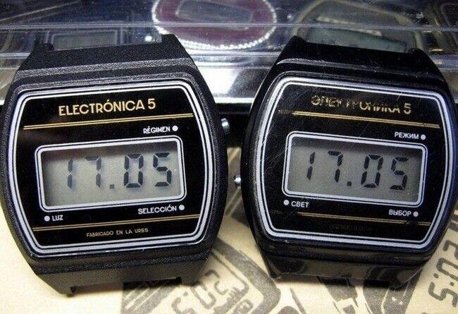 """Первые советские """"умные"""" часы"""