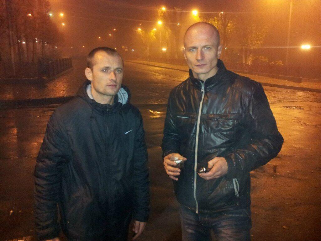 Тимур Евтушенко с другом Николаем Демидовым