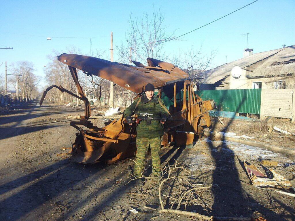 """Демидов является снайпером-разведчиком """"ДНР"""""""