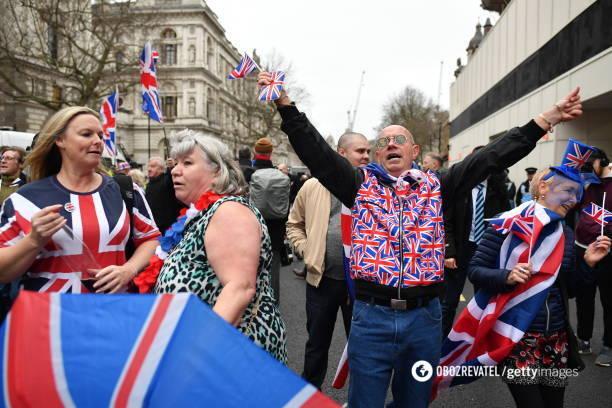 Британія святкує Brexit