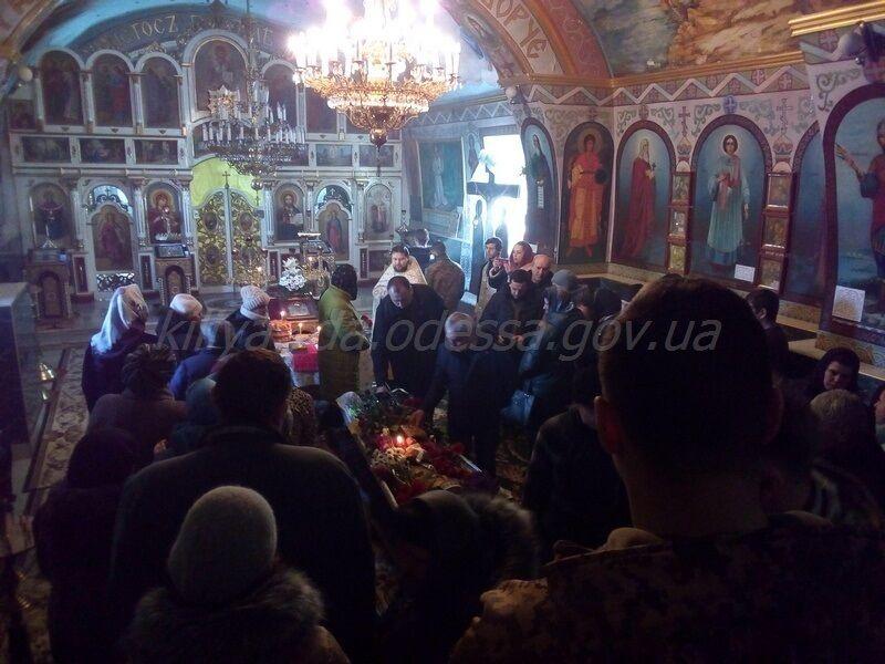 На Одесщине простились с погибшим на Донбассе защитником Украины Евгением Щуренко