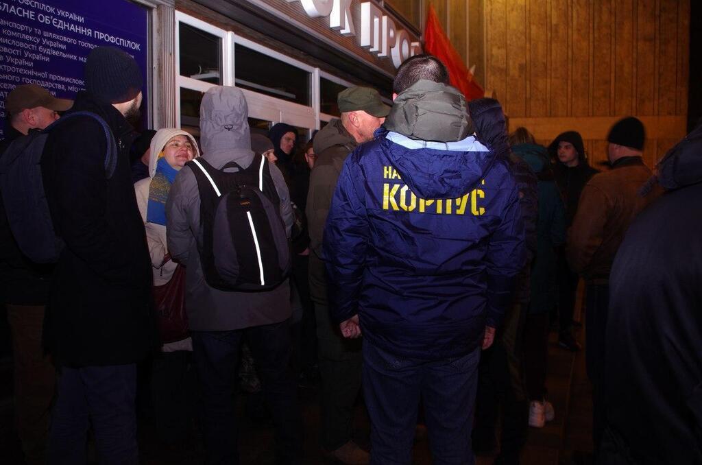 В Днепре сорвали показ российского фильма