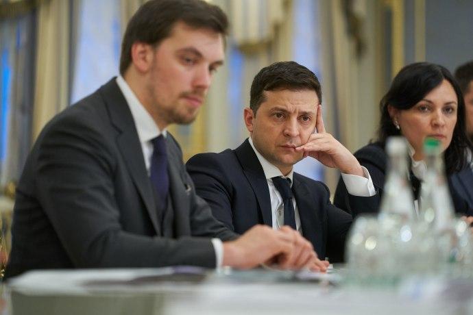 Гончарук обсудил с Зеленским тарифы на отопление
