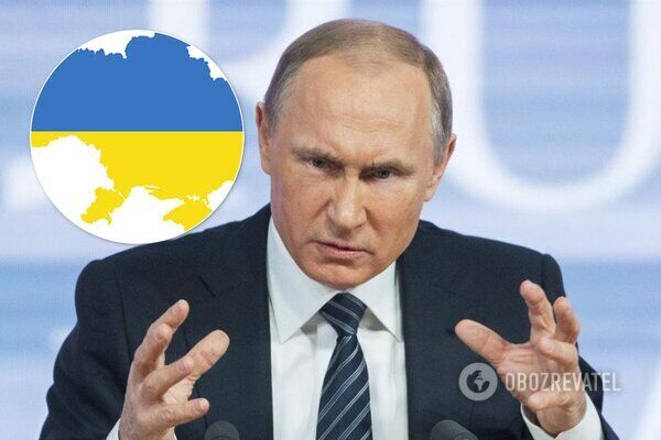 Владимир Путин и война в Украине