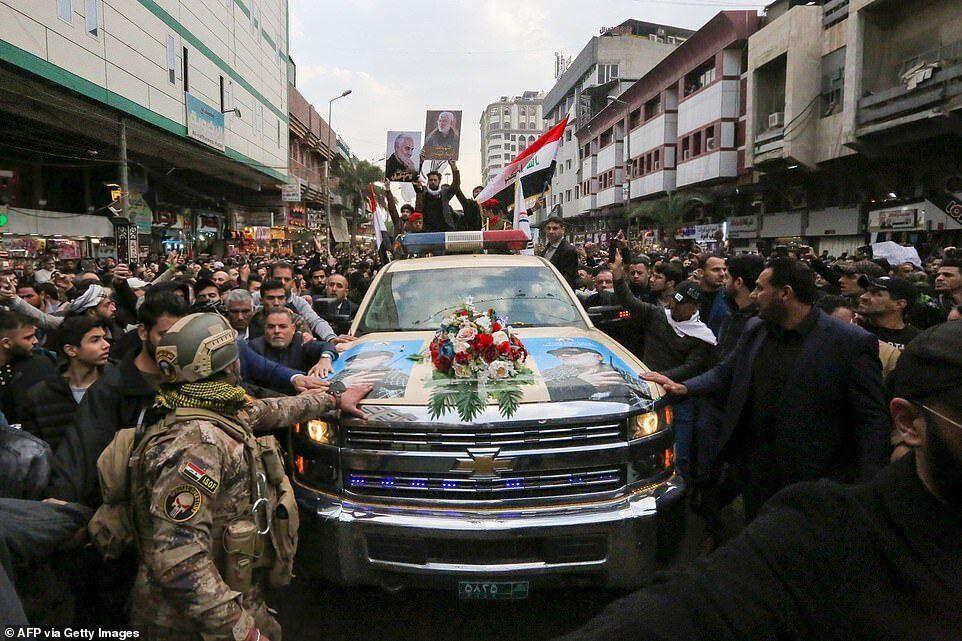 Сулеймані ліквідували під час повітряного удару США по міжнародному аеропорту Багдада в ніч на 3 січня