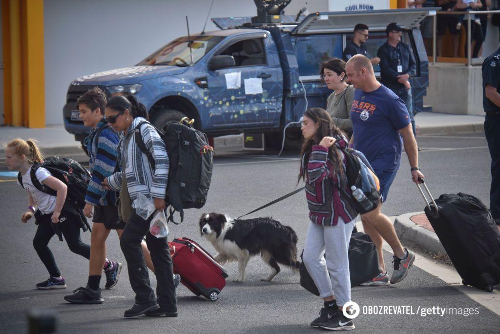 Эвакуация населения