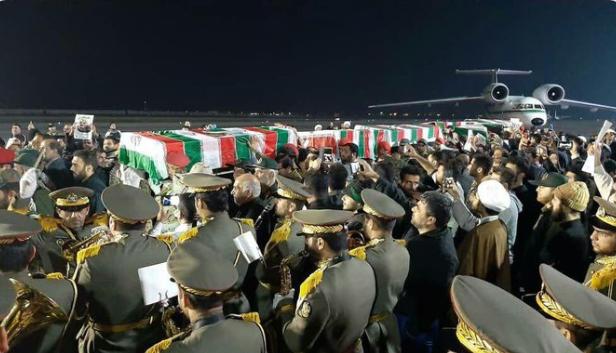 Тело Сулеймани доставили в Иран