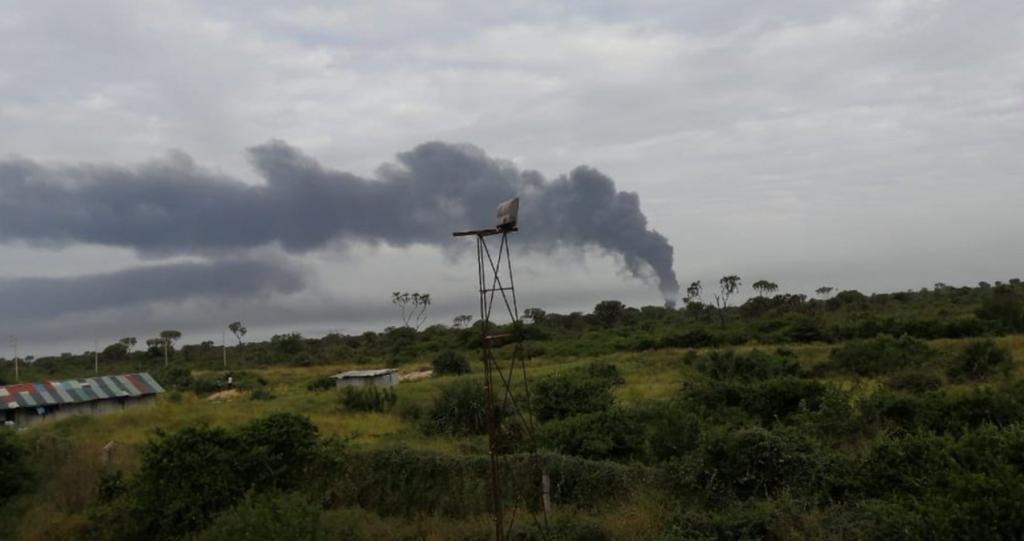 В Кении напали на военную базу США