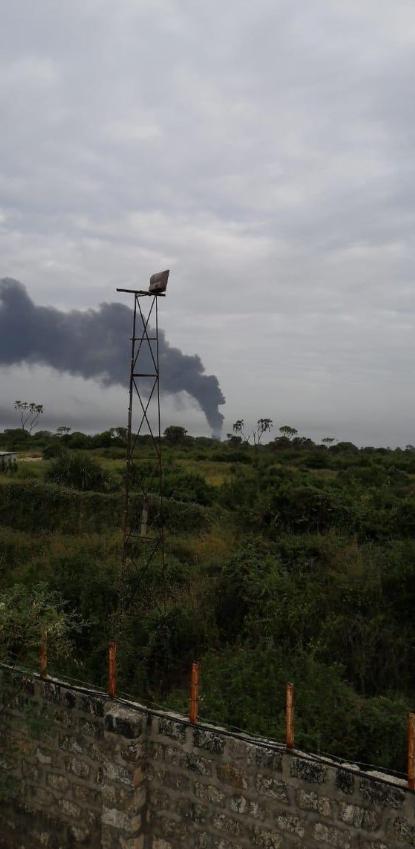 В Кении атаковали базу США