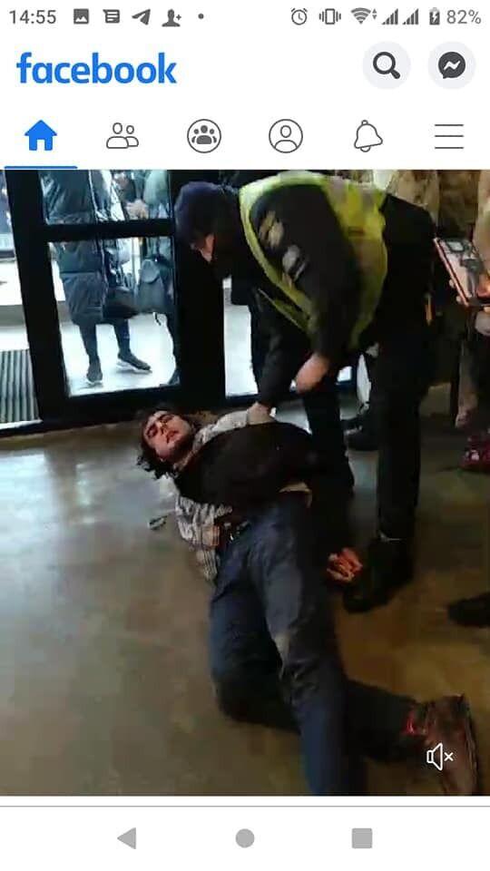 Затримання активіста в Києві