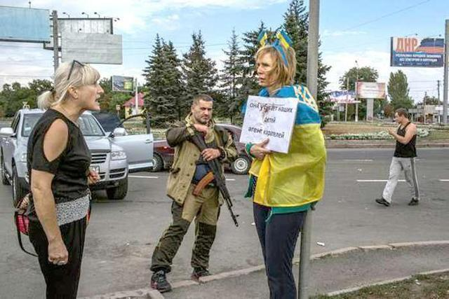"Ирина Довгань в ""ДНР"""
