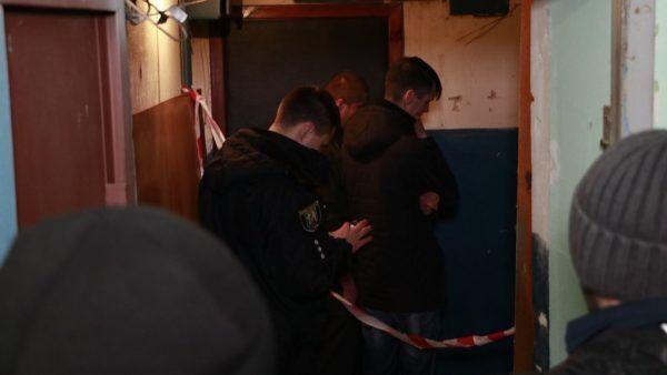 На месте убийства девушек на Подоле в Киеве