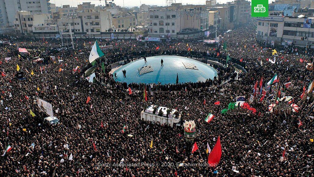 Прощання з Сулеймані в Ірані