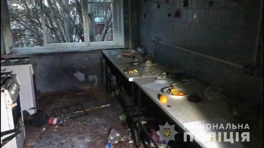 В одесском общежитии мужчина взорвал своих соседей