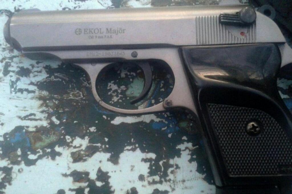 У дебошира изъяли оружие