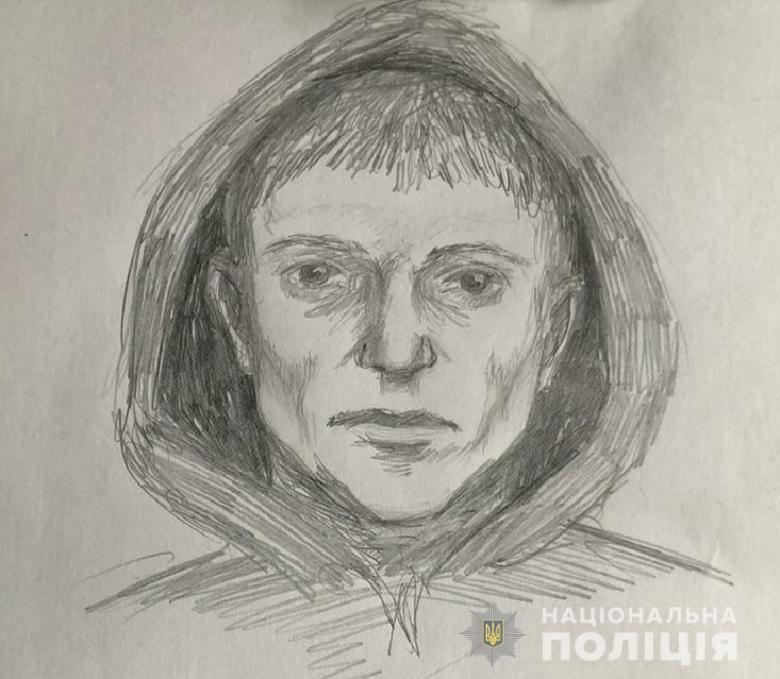 В Киеве насильник набросился с ножом на 19-летнюю девушку. Фоторобот