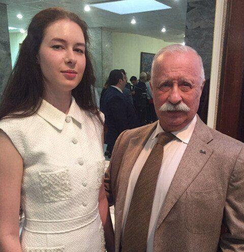 Варвара Якубович с отцом