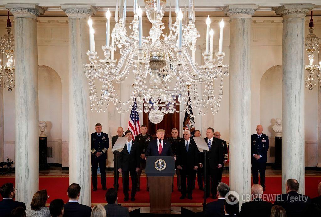 Пресс-конференция в Белом доме