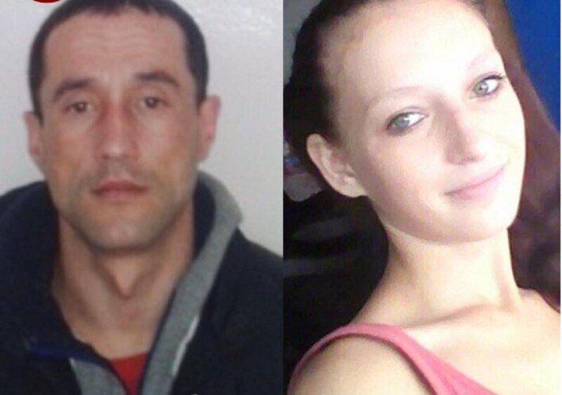 Подозреваемые в убийстве 34-летний Сергей Ксендзик и 19-летняя Елизавета Бершацкая