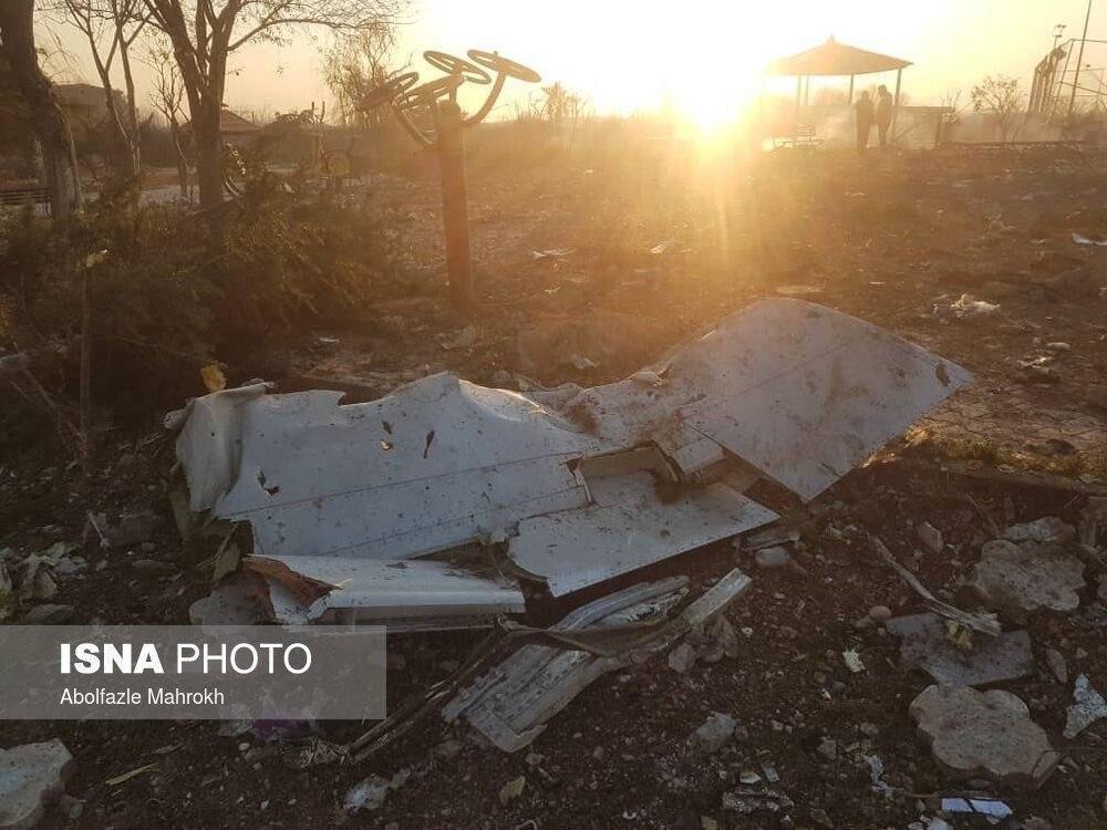 В Ірані впав український літак