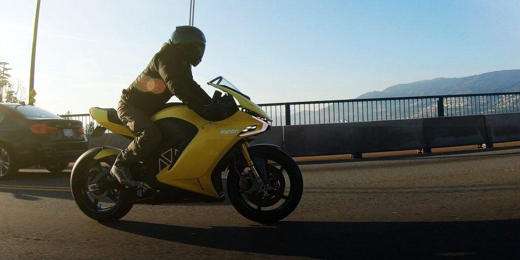 Електричний мотоцикл Hypersport