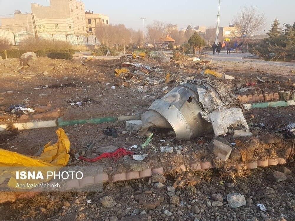 В Иране рухнул украинский самолет