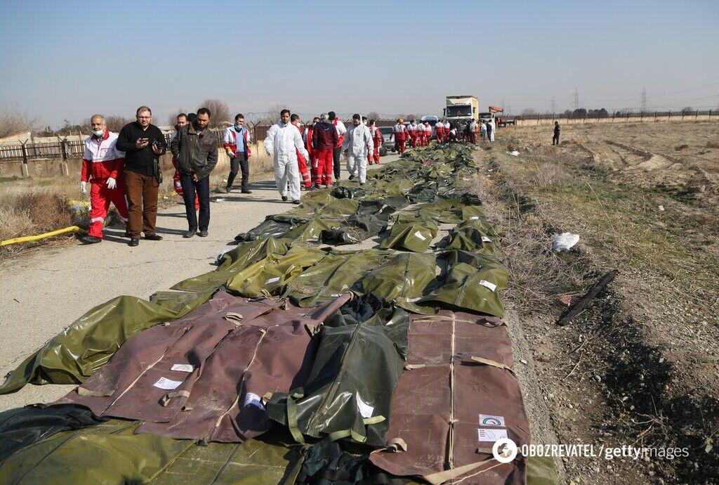 Сбитый украинский самолет