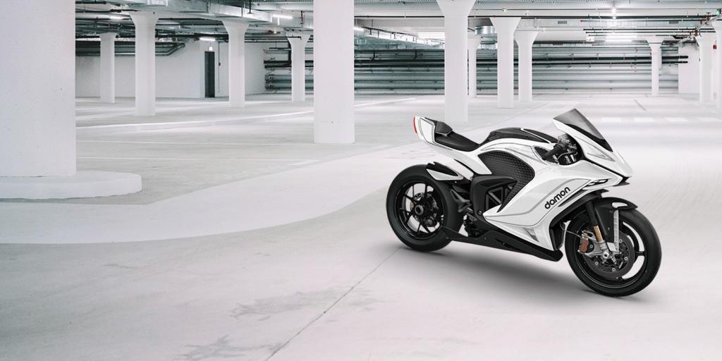 Мотоцикл Damon Motorcycles Hypersport